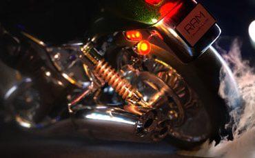 آبجکت های آماده موتور سیکلت در نرم افزار Maya